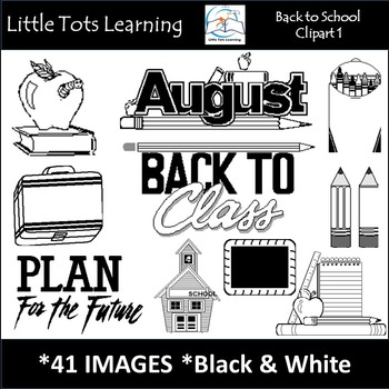 Back-to-School Clip Art 1