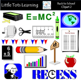 Back to School Clipart | Set 2