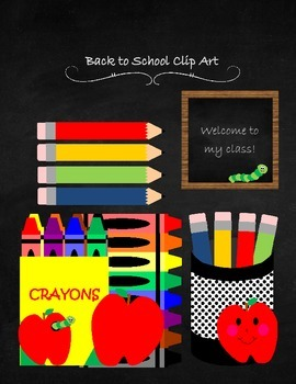 Back to School Clip Art
