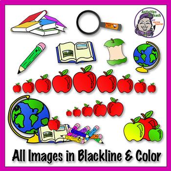 Back to School - Clip Art Bundle
