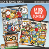 Back to School Clip Art Bundle