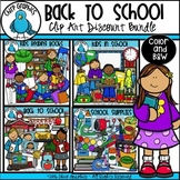 Back to School Clip Art Bundle - Chirp Graphics