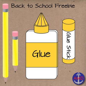 Back to School Clip Art Freebie