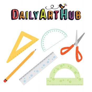 Back to School Clip Art - Great for Art Class Projects!