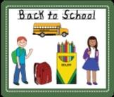Back to School Clip Art Kit