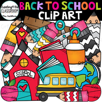 Back to School Clip Art {School Clip Art}