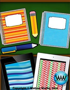 Back to School Clip Art {Watson Works Clip Art/Graphics}