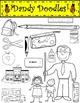 Back-to-School Clip Art by Dandy Doodles