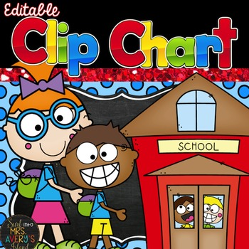 Clip Charts for Classroom Management - Editable