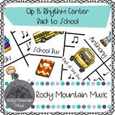 Back to School Clip It Rhythm Center