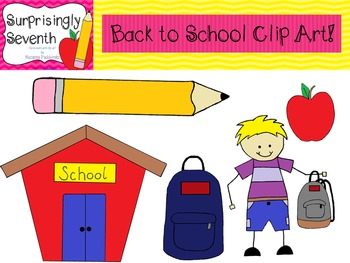 Back to School Clipart!