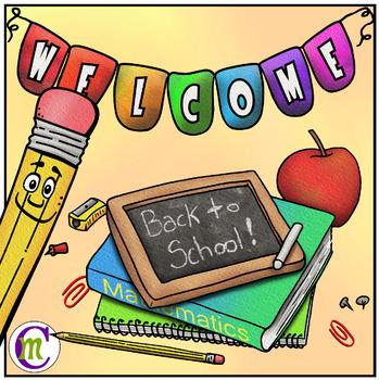 Back to School Clipart FREEBIE