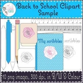 Back to School Clipart - Free Sample