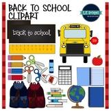 Back to School Clipart {FREEBIE!}