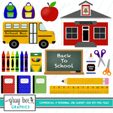 Back to School Clipart Pack