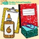 Back to School Supplies Clip Art Pack | Notebook, Marker, Pencil, Backpack 1