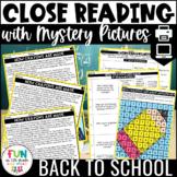 Reading Comprehension Passages | ELA Review Activity