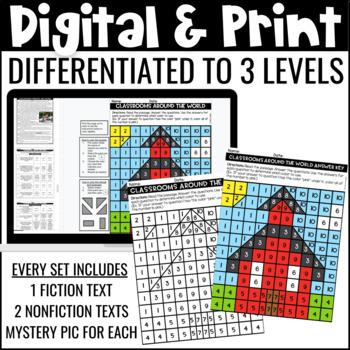 Reading Comprehension Passages   ELA Review Activity