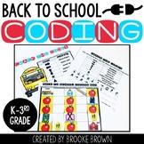 Back to School Coding