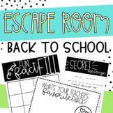 Back to School Breakout Collaborative Escape Room