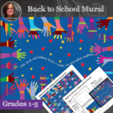 Back to School Collaborative Poster - Back to School Art Activity