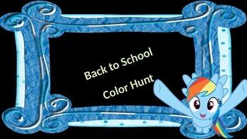 Back to School Color Hunt