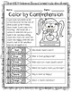 Back to School (Color by Comprehension Stories and Questio