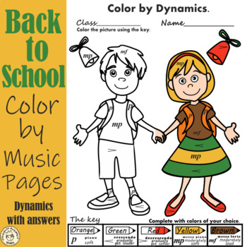 Back  to School Color by Dynamics