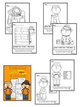 Back-to-School Color by code sampler pack