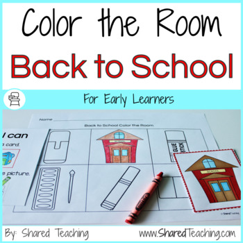 Back to School Color the Room