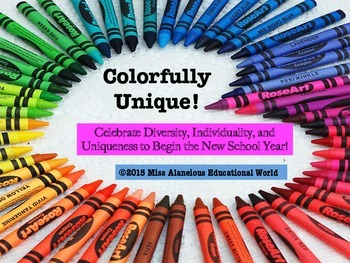 Back to School: Colorfully Unique!