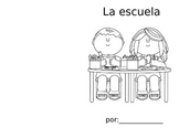 Back to School Coloring Booklet (SPANISH Pre-literacy)