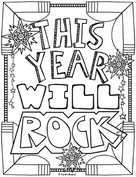 Back to School Coloring Pages | 8 Fun Doodle Designs