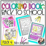 Back to School Coloring Pages | School Coloring Sheets