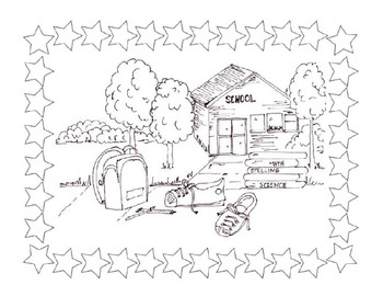 Back to School Coloring Pictures