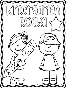 Back to School Coloring Sheets FREEBIE K-3