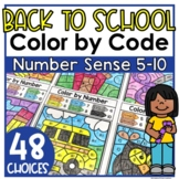 Back to School Coloring Worksheets and Printables Number S