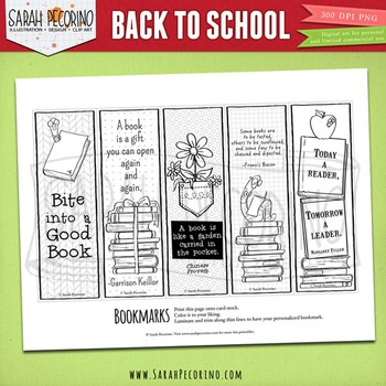 Back to School Coloring and Activity Pages