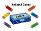 Back to School: Colors and Supplies, Roll and Cover & Roll and Color Graphs