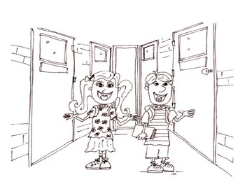 Back to School Colouring Sheets