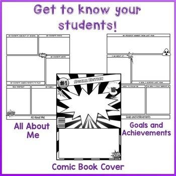 Back to School Comic Book