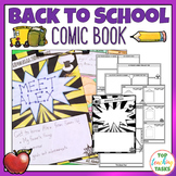 Back to School Comic Book