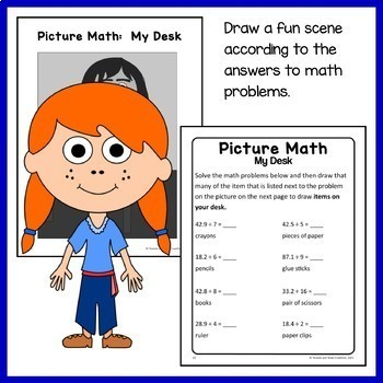 Back to School Math Puzzles - 5th Grade Common Core