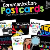 Parent Communication Postcards