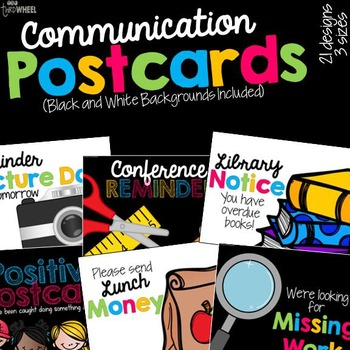 Parent Communication Postcards