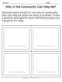 Back to School Community Building Activities