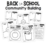 Classroom Community Building Activities   Back to School