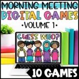 Back to School Community Building Activities   Digital Gam