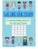Back to School Community Building Puzzle Piece Activity En