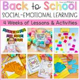 Back to School Community Building Social Emotional Learnin